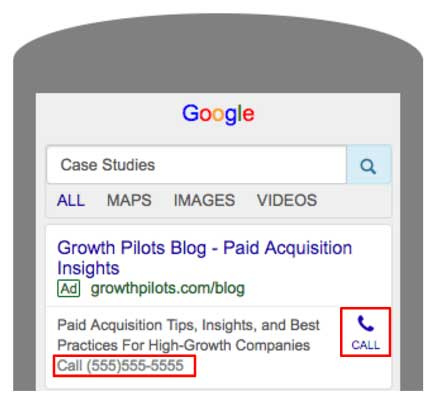 Google Text Ads with Extension Aar Kay Ad