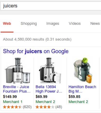Google Product Shopping Ads Aar Kay Ad